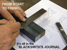 Blacksmith's Journal - blacksmithing help and publications (fantastic articles)