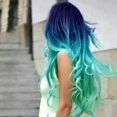Velmi pekne sfarbenie vlasov