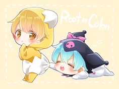 Anime Cupples, Cute Anime Chibi, Kawaii Chibi, Cute Anime Pics, Cute Anime Boy, Otaku Anime, Kawaii Anime, Anime Naruto, Pink Hair Anime