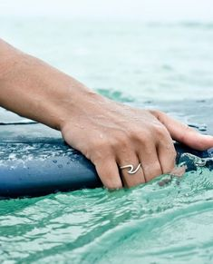 I'm in love with this silver wave ring. I think it would make an awesome gift for a surfer girl.
