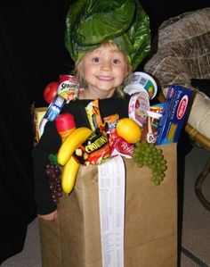 Bag of Groceries Halloween Costume
