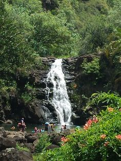 Waimea Falls Hawaii Oahu...loved this place...came here often w my brother!