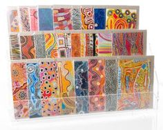 Alperstein Designs has released a range of Aboriginal Art gift cards featuring 26 paintings from Warlukurlangu Artists of Yuendumu.