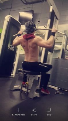 My back is my pride and joy