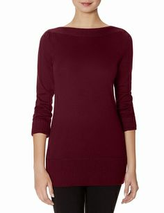 Boatneck Tunic Sweater - I have this in grey and I really like it. The Limited is doing 50% off right now, but I don't know how long it lasts.