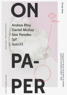On_paper Exhibition - www.abelmartinez.com