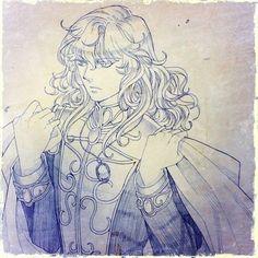 Galactic Heroes, Oscar, Rose, Versailles, Art, Legends, Art Background, Pink, Kunst