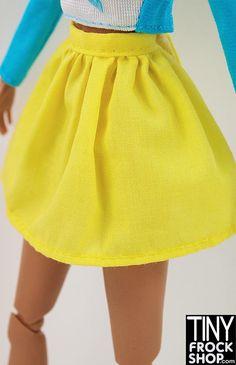 Barbie Yellow Dirndl Skirt