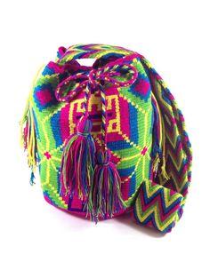 LA GUAJIRA ALIVE WAYUU BAG available at www.shopkokay.com #wayuubag #kokay