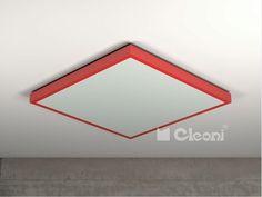 Cleoni plafon Noble kwadrat II 1147P - SUPER OFERTA - sprawdź w koszyku