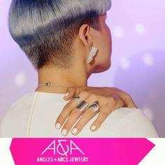 "14 To se mi líbí, 2 komentářů – Angles & Arcs Jewelry + Makeup (@anglesandarcs) na Instagramu: ""#shopsmall #sfjewelrydesigner #geometricjewelry #handmadejewelry #modernjewelrydesign #uniquegifts"""
