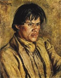 West Billy the Navajo, 1939, Nora Lucy Mowbray Cundell