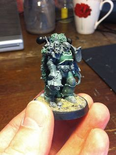 Nice Chaos Marine from Spiky Rat Pack