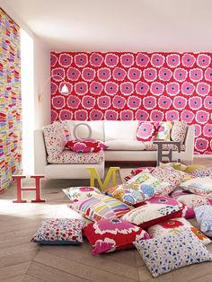 The Papavera collection from @SandersonFW available from Rodgers of York #Interiors