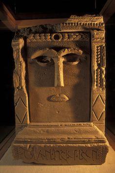Goddess Hayyan idol from the Temple Winged Lion - Petra, Jordan