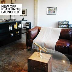 Revolution House is in the heart of Maboneng Precinct and the city's iconic rejuvenated building site. The apartment is a loft with Modern touches and chic furniture to compliment the glamoro… Revolution, Accent Chairs, Loft, Houses, Interiors, Urban, Space, Street, Modern
