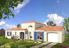 Provence, Html, Garage, Construction, Mansions, House Styles, Inspiration, Home Decor, Traditional House