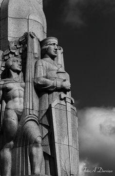 ~ Living a Beautiful Life ~ Freedom Statue, Riga, Latvia