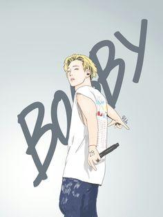#art #fanart #iKON #BOBBY
