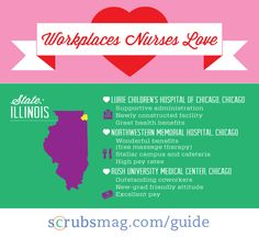 Workplaces Nurses Love! #Illinois #Career #Nurses
