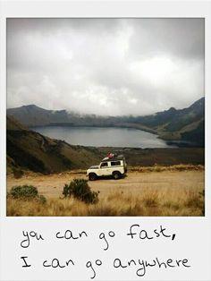 Land rover santana at mojanda Ecuador