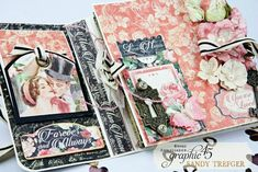 Mon Amour Love Notes Album for Graphic 45