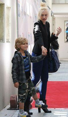Lo stile del figlio di Gwen Stefani, Kingston Rossdale