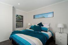 Bright Blue Bedroom | Blue Sheets | White Bedroom Bright Blue Bedrooms, White Sheets, White Bedroom, Bedroom Inspiration, Furniture, Design, Home Decor, Interior Design, Design Comics