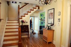 Building wood stairs #staircase