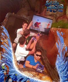 18 of the Funniest Splash Mountain Photos of All Time | Pleated-Jeans.com