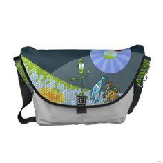 Inside the Eye Messenger Bag