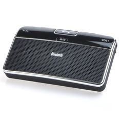 Wireless Bluetooth Speakerphone  Handsfree Car Kit With Car Charger Bluetooth Hands  Supports GPS & MP3 audio