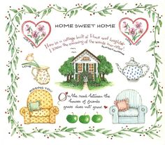 Susan Branch Home Sweet Home