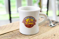 Big Daddy's coffee mug in New York City - @FunkyJunkDonna. Coffee mugs do make great travel souvenirs!