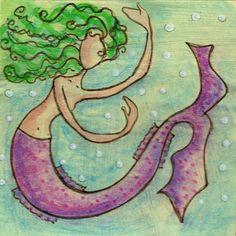 Mermaid Dance by jasperandblue on Etsy, $10.00
