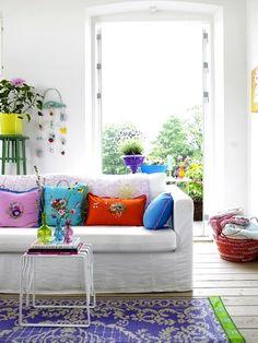 Fresh bright colours