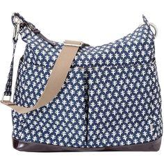 OiOi Diaper Bag Monaco Blue Mini Geo Hobo @Andrea Fellman #royalbaby #baby #gifts
