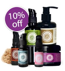 We personally use and recommend Annmarie Gianni skin care. Her line is truly phenomenal. It is beyond organic and is literally food for your skin! If you feel like you want to give it a try then we've worked with their team to bring you a 10% discount plus free sea sponges if you order early.