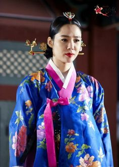 Korean drama [Cruel Palace - War of Flowers] = 소용조씨[Lady Jo Gwi-in] - 김현주(Kim Hyun-joo)