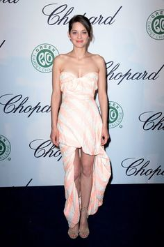 Marion Cotillard looks lovely at the Chopard Lunch
