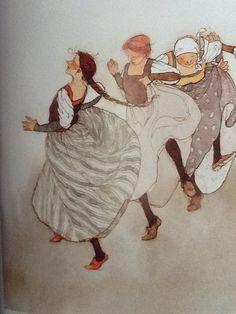 Lisbeth Zwerger -- Austrian traditional clothing