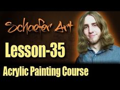35 - Different Methods and Layering of Acrylic Painting - Acrylic Painti...