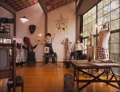Museos México : Museo Casa Estudio Diego Rivera y Frida Kahlo : Sistema de Información Cultural, CONACULTA