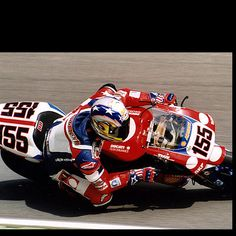 Ben Bostrom...he was my fav! Need to find my Laguna Seca pic with him!