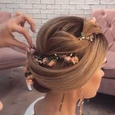 Beautiful flower piece interwoven in hair  Ul\'yana Zaggie.aster ⠀⠀⠀⠀⇰Tag a friend also ⠀⠀⠀Follow Steph.videos ⠀⠀Follow Steph.videos ⠀Follow Steph.videos Follow Steph.videos ⠀ #hair #love #hairstyle #instahair #hairstyles #haircolour #haircolor #hairdye #hairdo #diyvideo #tutorial #braid #fashion #balayage #diy #longhair #style #video #curly #black #brown #blonde #brunette #hairoftheday #hairvideos #hairvideo #hairtutorial #hairfashion #hairofinstagram #coolhair