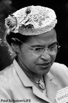 "Rosa Parks (02/04/13 - 10/24/05): Civil Rights Activist; dubbed ""the first lady of civil rights""and ""the mother of the freedom movement by Congress"