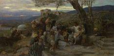 Semiradsky Genrikh (1843–1902) Christ Blessing the Children
