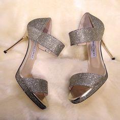 Alana Metallic Sandal by Jimmy Choo