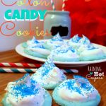 Cotton Candy Cookies are actually very easy to make and only take a few ingredients. They are blue and beautiful!