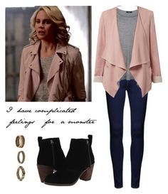 """""""Camille O'Connell 2x21 - The Originals"""" by shadyannon ❤ liked on Polyvore featuring Dolce Vita, Forever 21 and plus size clothing"""
